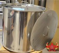 Läuterbottich 70 Liter mit seitlichen Ablauf